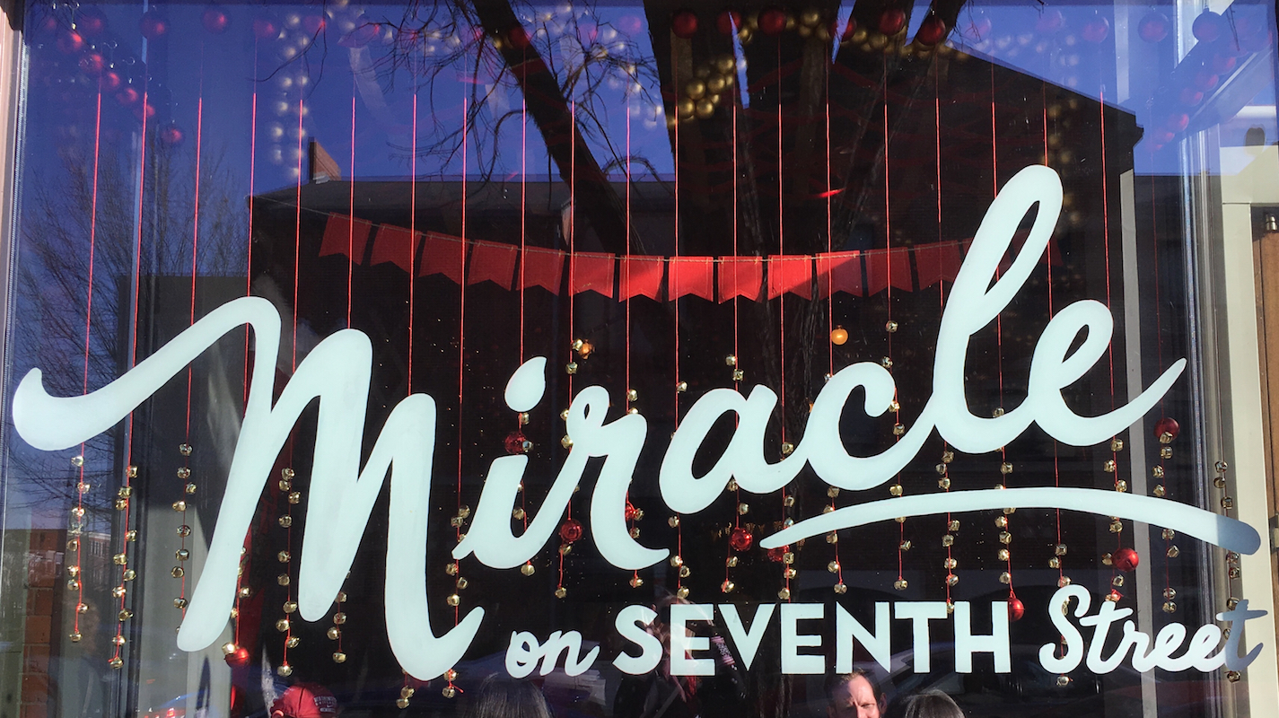 Dc Christmas Pop Up Bar.Miracle On 7th Street Adventures In Dc